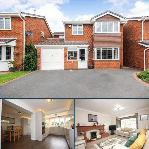 4 bedroom detached house for sale - Oakslade Drive, Solihull, West Midlands, B92