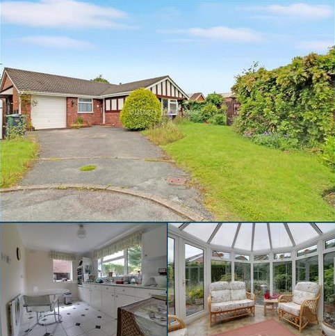 3 bedroom bungalow for sale - Meadow Close, Winsford