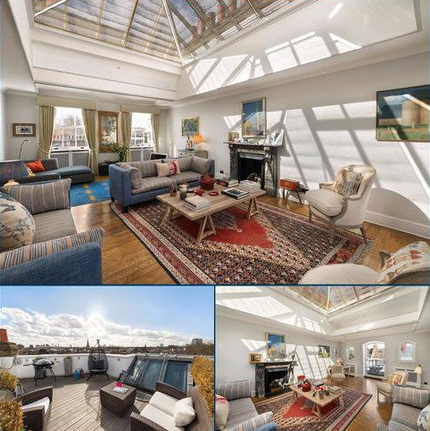 3 bedroom penthouse for sale - Bina Gardens, South Kensington, London