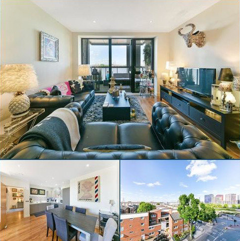 2 bedroom flat for sale - Lighterman Point, 3 New Village Avenue, Canary Wharf, London, E14