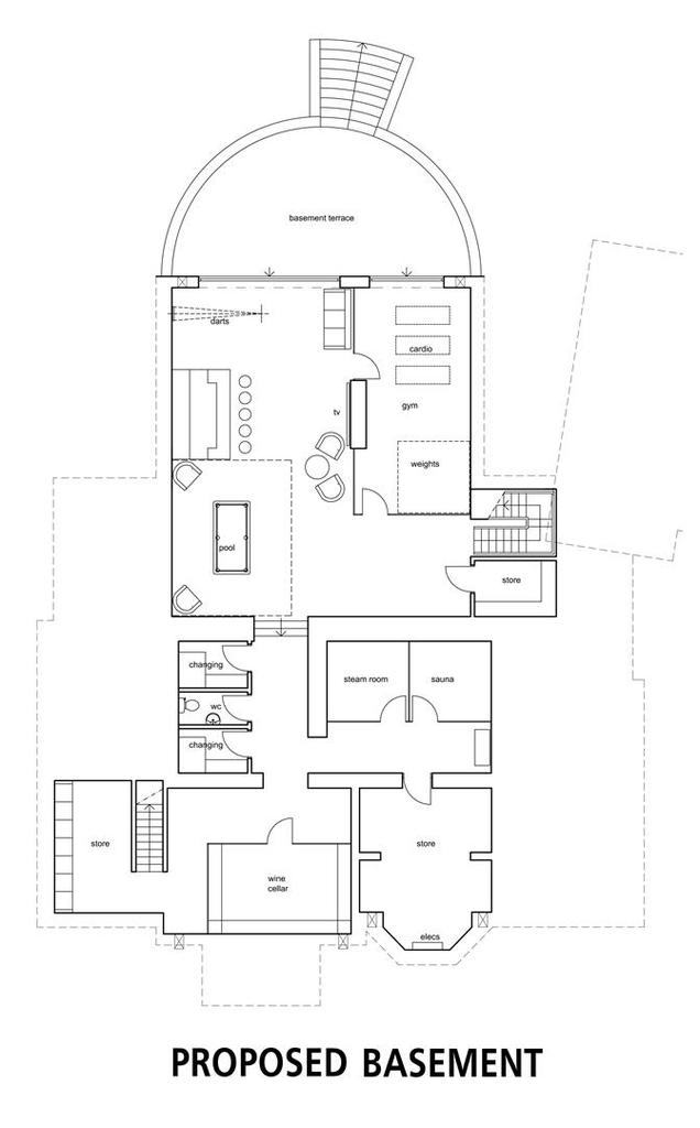 Floorplan 1 of 8: Proposed Basement