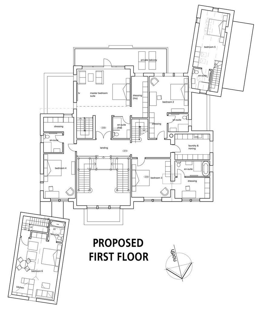 Floorplan 3 of 8: Proposed First Floor