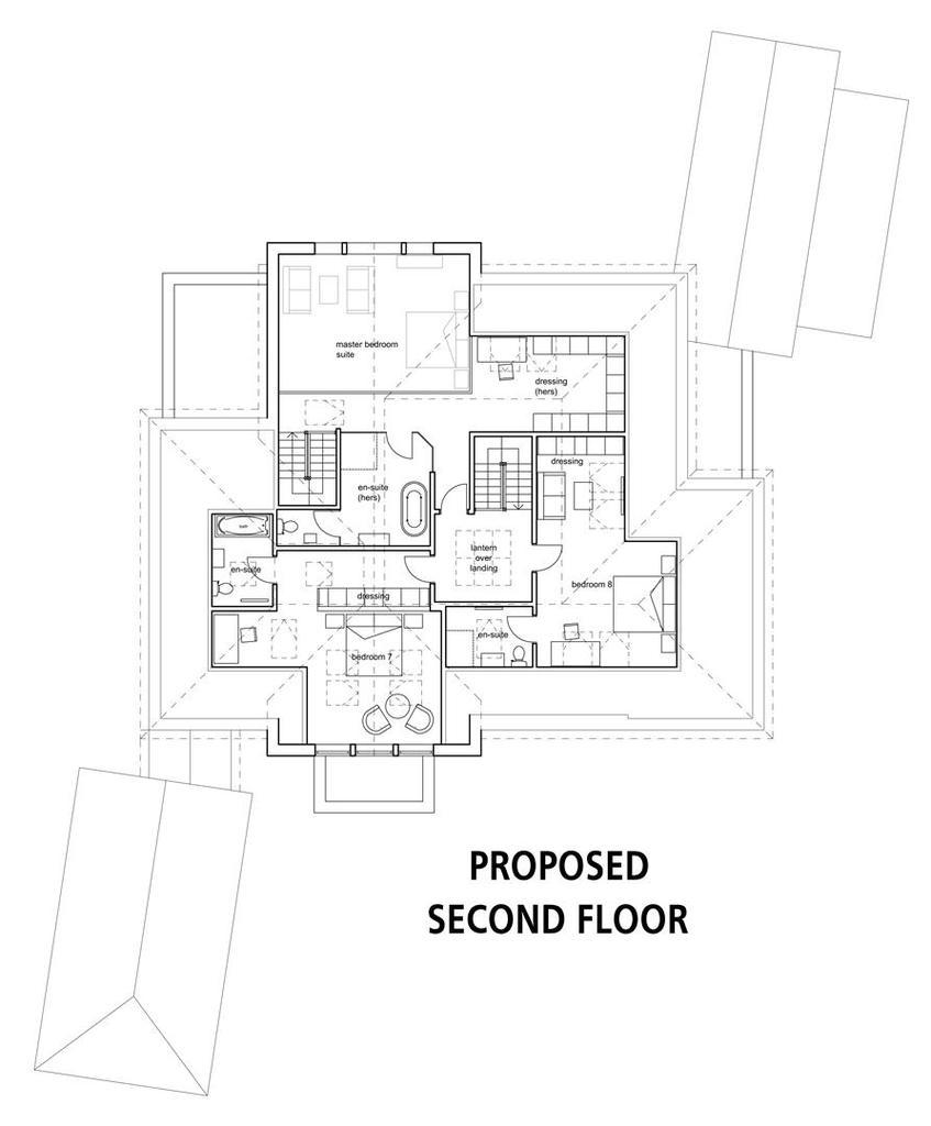 Floorplan 4 of 8: Proposed Second Floor