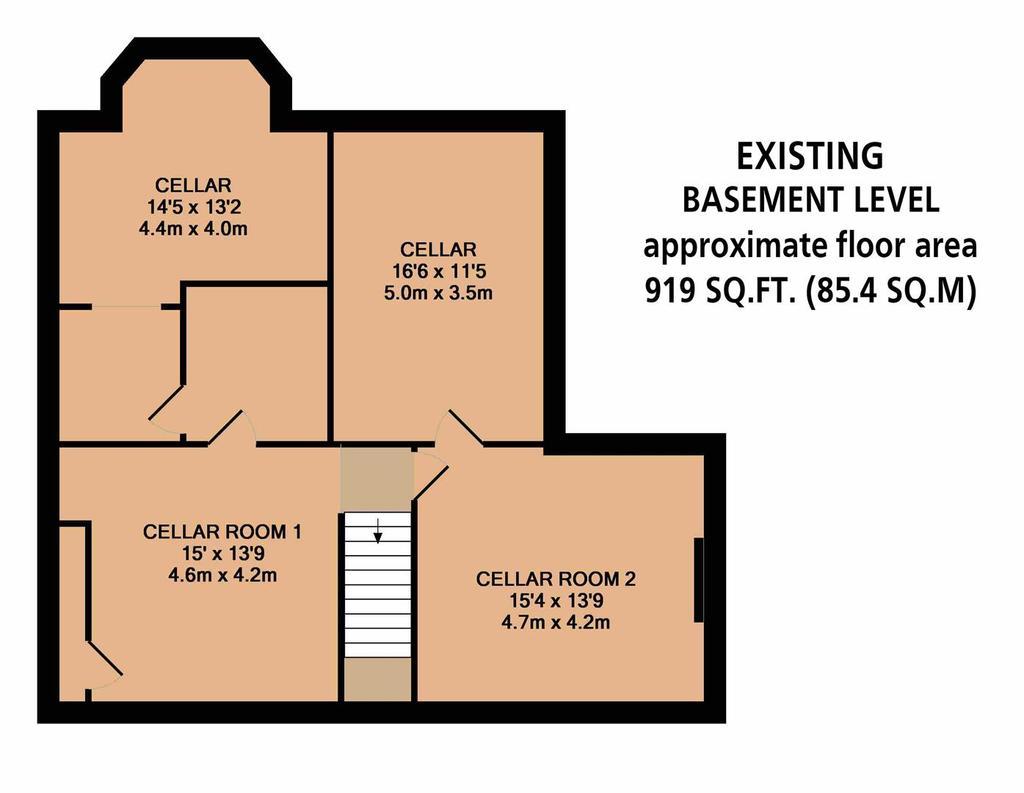 Floorplan 5 of 8: Existing Basement