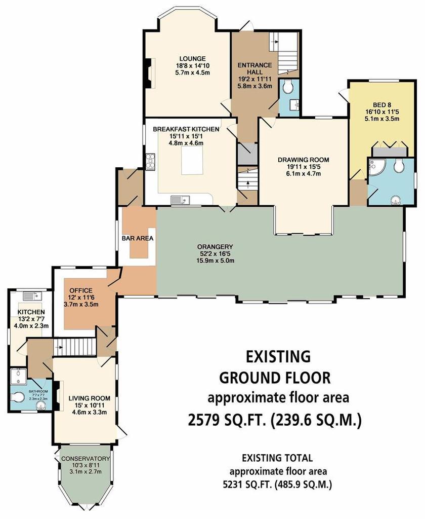 Floorplan 6 of 8: Existing Ground Floor