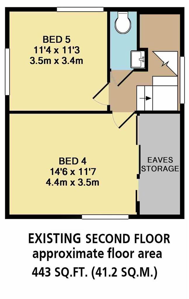 Floorplan 8 of 8: Existing Second Floor