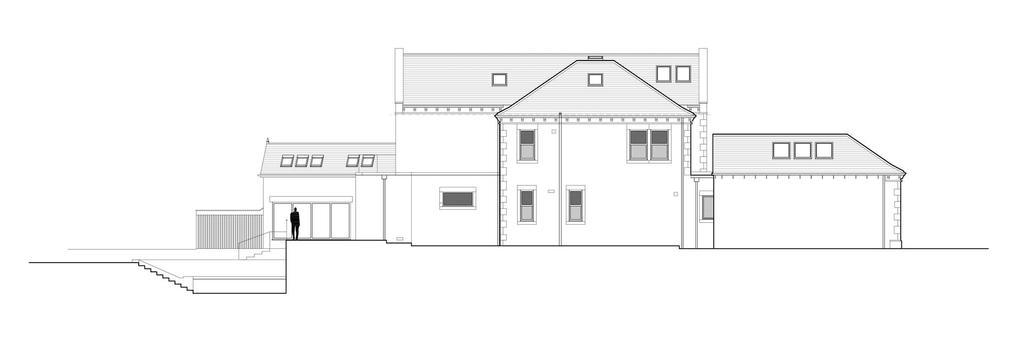 Proposed Side East Elevation