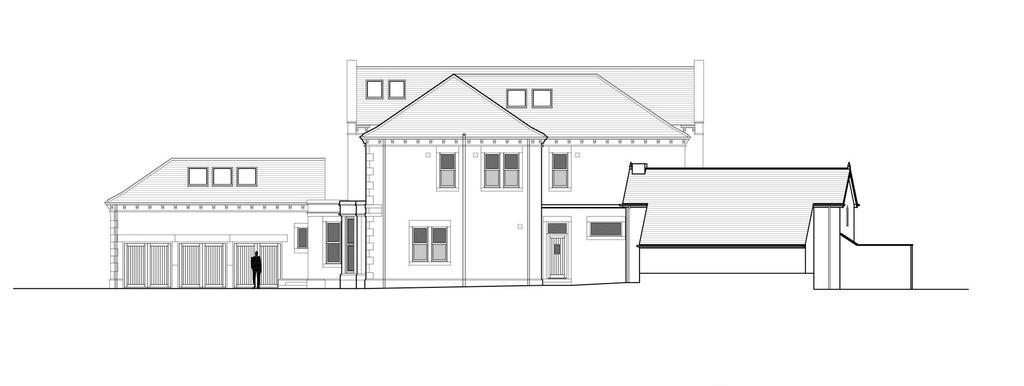 Proposed Side West Elevation