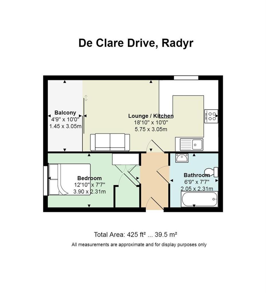 Floorplan: 22 De Clare Drive, Radyr.jpg