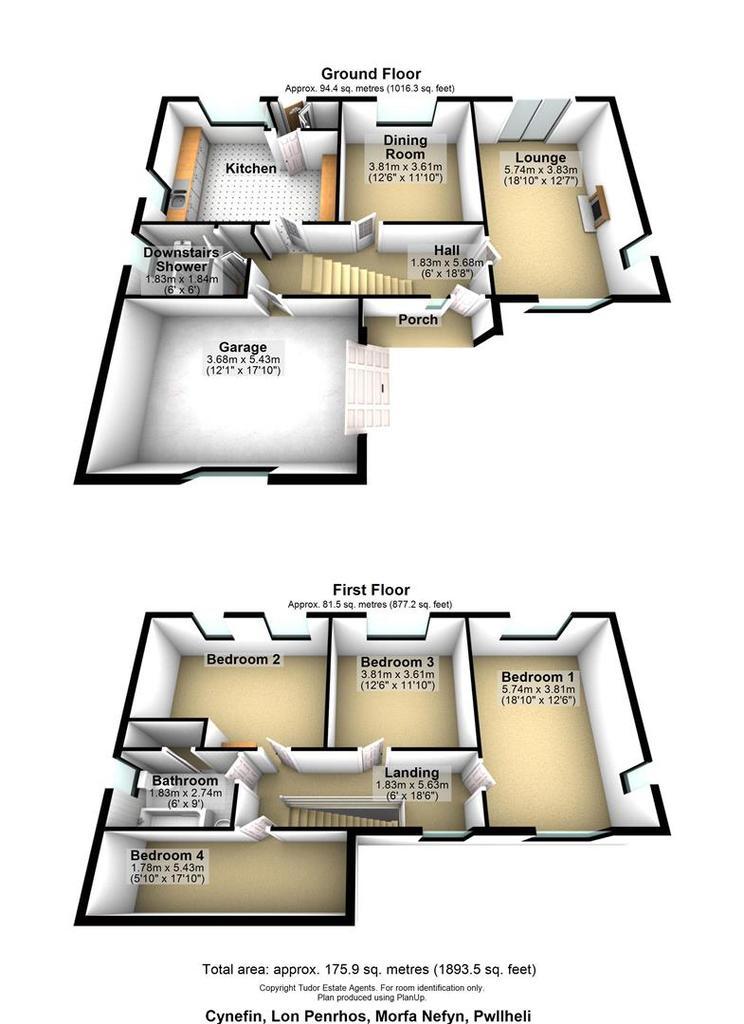 Floorplan 1 of 2: Cynefin, Lon Penrhos, Morfa Nefyn, Pwllheli.jpg