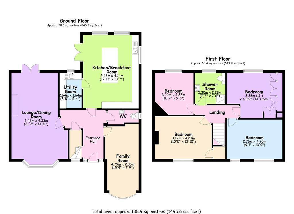 Floorplan: 447 Upper Eastern Green, Coventry.JPG