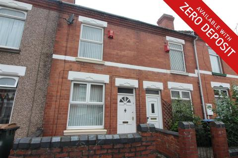 2 bedroom terraced house to rent - St. Michaels Road, Coventry