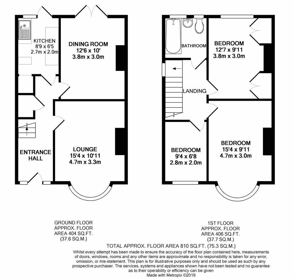 Floorplan: Northdown Road