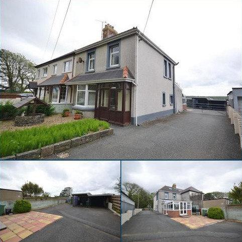 3 bedroom semi-detached house for sale - St. Davids Road, Letterston, Haverfordwest