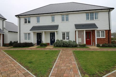 2 bedroom terraced house for sale - Wagtail Walk, Finberry, Ashford, TN25 7GE