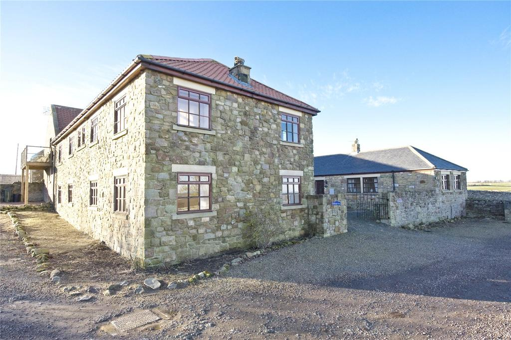 6 Bedrooms Semi Detached House for sale in Bamburgh House, Adderstone, Belford, Northumberland