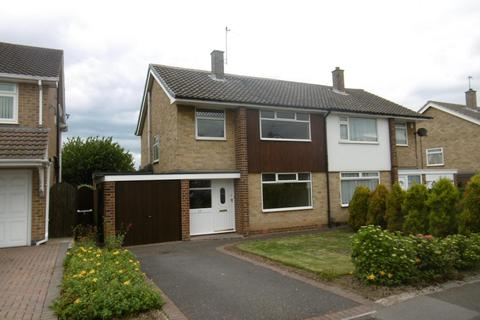 3 bedroom semi-detached house to rent - Woodbank Drive, Wollaton, NG8 2QW
