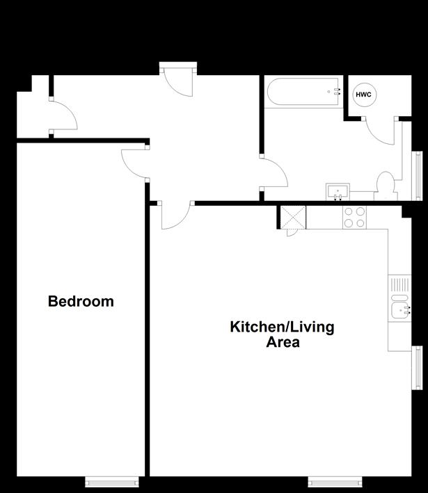 Floorplan: Split Level First Floor