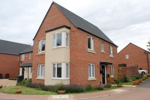 3 bedroom detached house for sale - Balmoral Close, Marina Gardens, Northampton NN5 4WA
