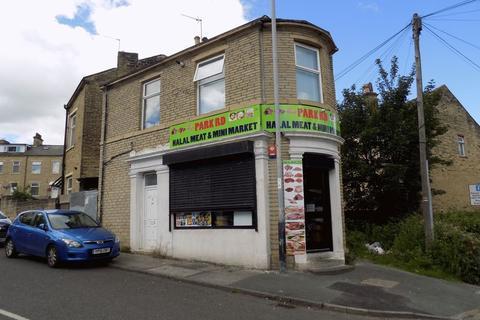 1 bedroom end of terrace house for sale - Park Road, Bradford - Shop & Flat 13% Return Based On Guide Price