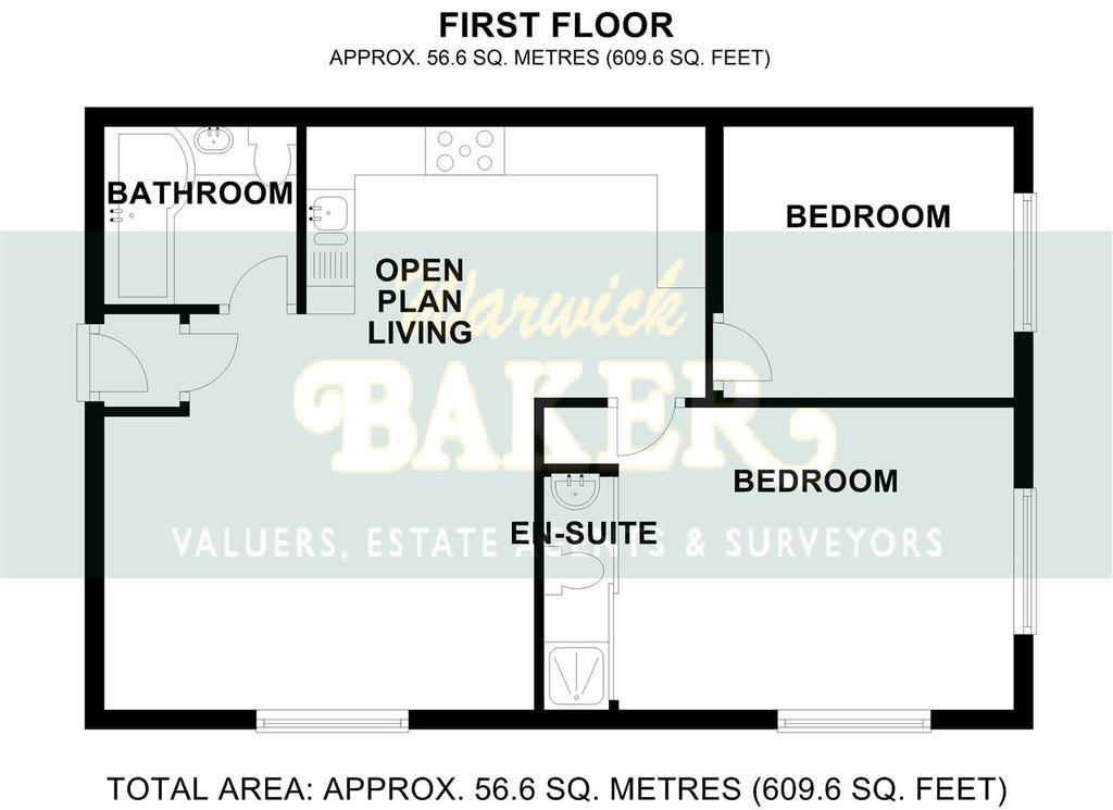 Floorplan 2 of 2: 3 MAYFLOWER COURT, SHOREHAM BY SEA.jpg B&W.jpg