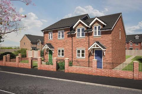 3 bedroom semi-detached house for sale - Plot 1 Dolforgan View, Kerry, Newtown, Powys, SY16