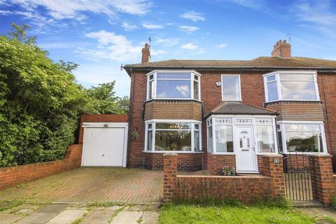 4 bedroom semi-detached house for sale - Hartley Avenue, Whitley Bay, Tyne And Wear
