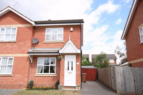 2 bedroom semi-detached house to rent - Cross Waters Close, Wootton, Northampton, NN4
