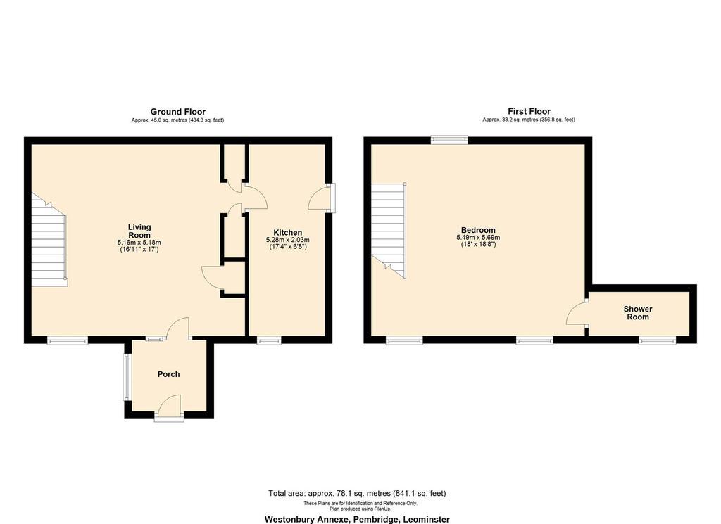Floorplan 2 of 2: Floor plan annexe