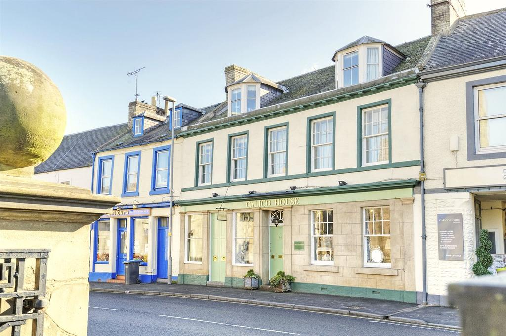 4 Bedrooms Terraced House for sale in High Street, Coldstream, Berwickshire, Scottish Borders