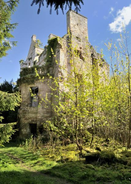 Detached House for sale in Cavers Castle, Cavers, Denholm, Roxburghshire, Scottish Borders