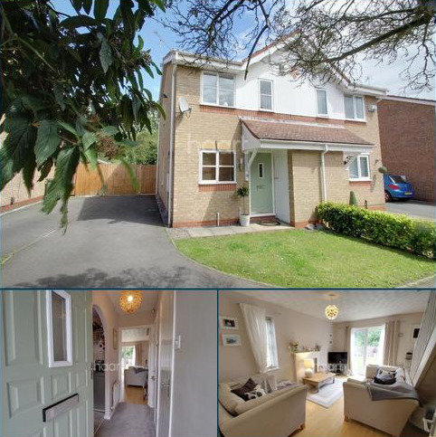 2 bedroom semi-detached house for sale - Tom Paine Close, Thorpe Astley, Leicester