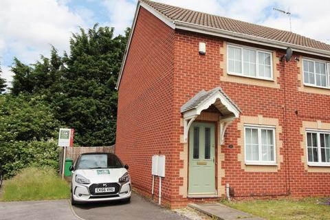 2 bedroom semi-detached house to rent - Meadow Brown Road, Bobbers Mill, Nottingham