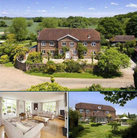 6 bedroom detached house for sale - Ramhurst Manor, Powder Mill Lane, Leigh, Kent, TN11