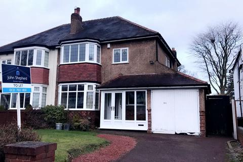 3 bedroom semi-detached house to rent - Danford Lane, Solihull, West Midlands, B91