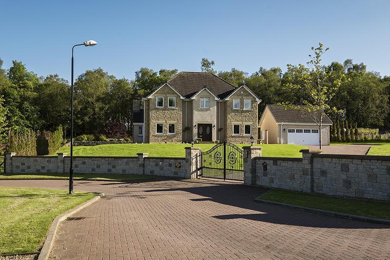 4 Bedrooms Detached House for sale in Glenbrook, Dollarbeg Park, Dollar, Clackmannanshire