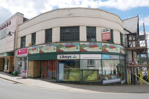 Retail property (high street) for sale - Ship Street & 5 Wheat Street, Brecon, Powys.