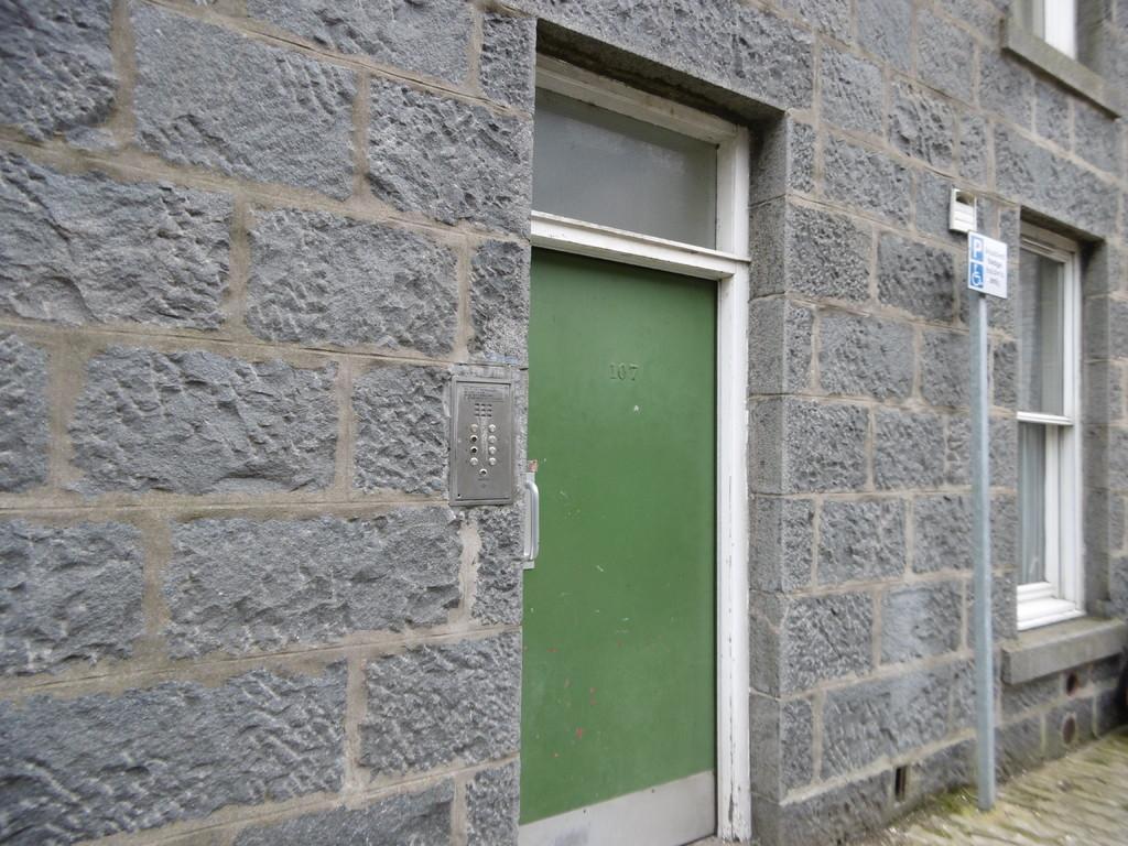 Communal Front Door
