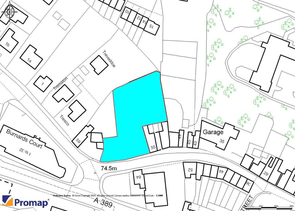 Land Commercial for sale in Pool Street, Bodmin