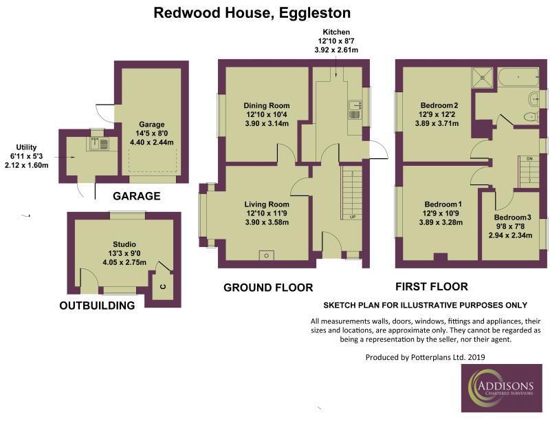 Floorplan: Redwood House Eggleston