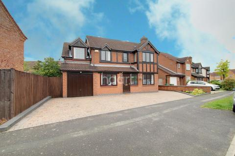 5 bedroom detached house for sale - Somerfield Way, Leicester Forest East, Leicester