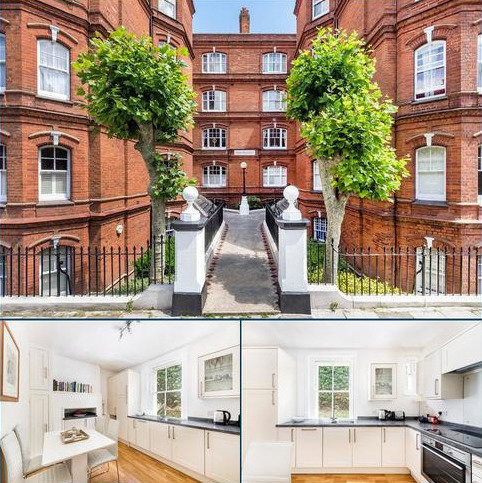 1 bedroom flat for sale - Heber Mansions, Queen's Club Gardens, London, W14