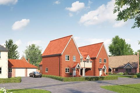 3 bedroom link detached house for sale - Plot 9 The Yox - Cheyney Green, The Street, Darsham, Saxmundham, IP17