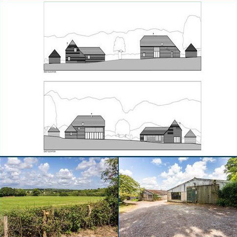 Plot for sale - Pound Hill, Framfield, Uckfield, East Sussex, TN22