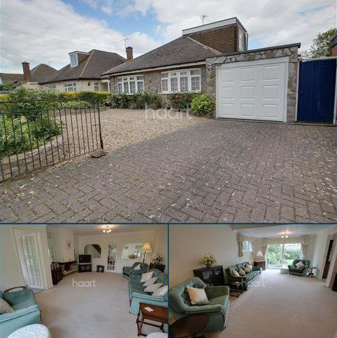 3 bedroom bungalow for sale - West View Avenue, Glen Parva, Leicester