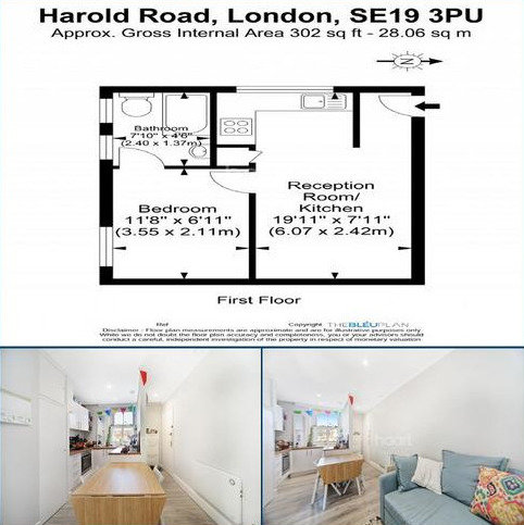 1 bedroom flat for sale - Harold Road, Crystal Palace
