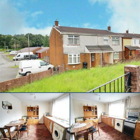 2 bedroom end of terrace house for sale - The Hafod, Pant, Merthyr Tydfil