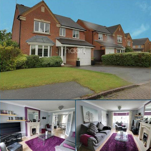 4 bedroom detached house for sale - Hever Close, Barrowby Lodge, Grantham