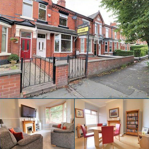 3 bedroom terraced house for sale - Ruskin Road, Crewe