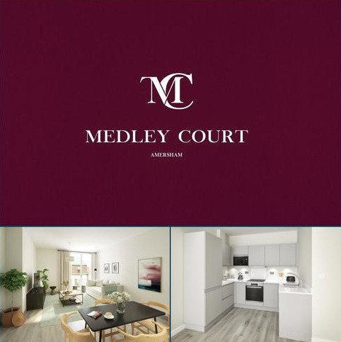 2 bedroom flat for sale - Medley Court, 77 Woodside Road, Amersham, Buckinghamshire, HP6